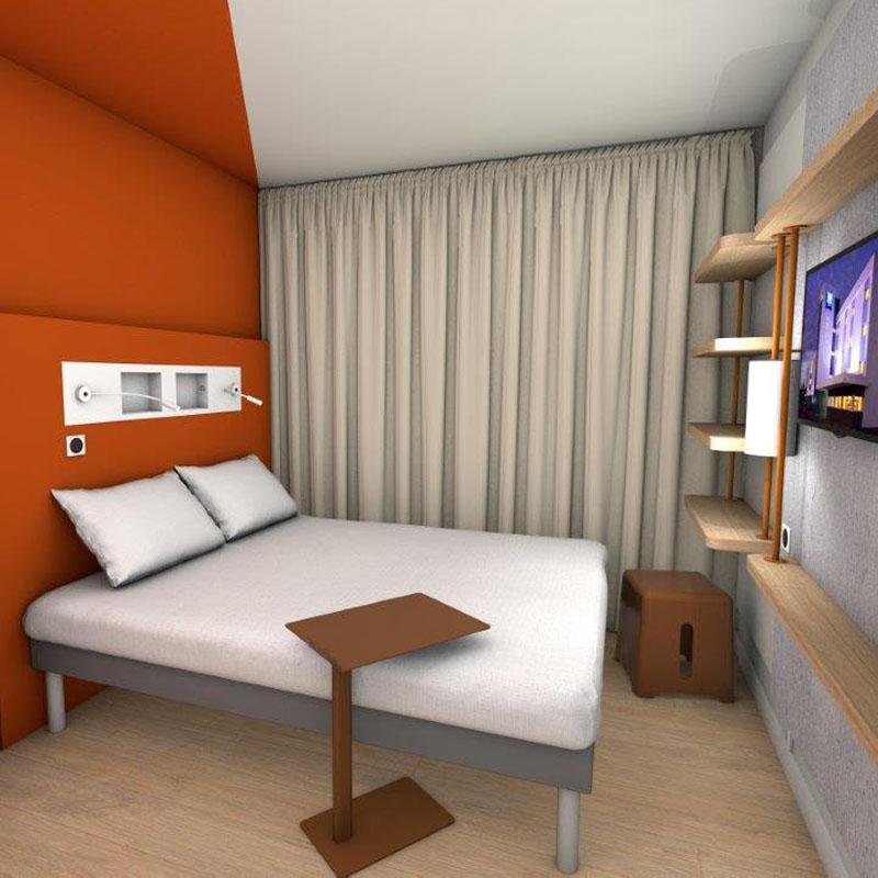 Chambres h tel rennes ibis budget - Chambre hotel ibis budget ...